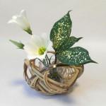 竹細工職人、小倉智恵美さんの竹籠ワークショップー小さな花器を作りましょう